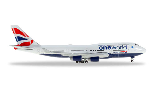 British Airways - Boeing 747-400 (Herpa Wings 1:500)