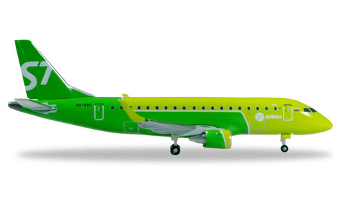 S7 Airlines - Embraer E170 (Herpa Wings 1:500)