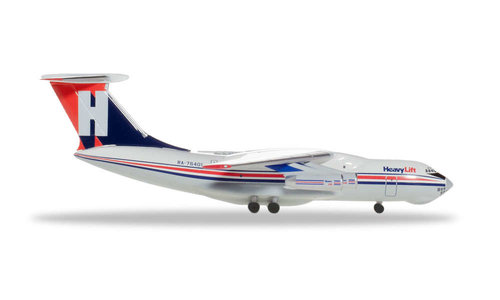 HeavyLift Cargo Airlines - Ilyushin IL-76 (Herpa Wings 1:500)