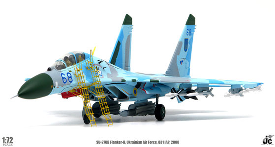 Ukrainian Air Force - SU-27UB Flanker-B (JC Wings 1:72)