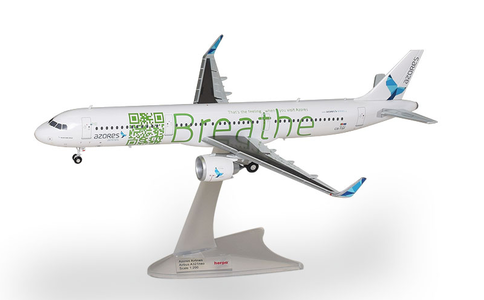 Azores Airlines - Airbus A321neo (Herpa Wings 1:200)