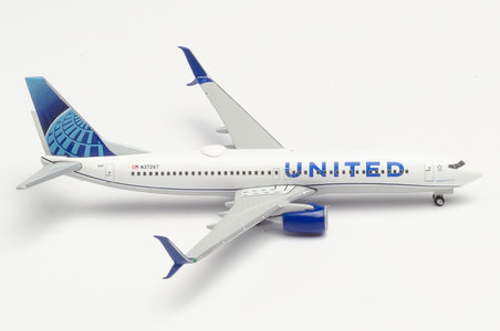 United Airlines - Boeing 737-800 (Herpa Wings 1:500)