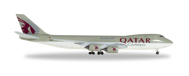 Qatar Airways - Boeing 747-8F (Herpa Wings 1:500)