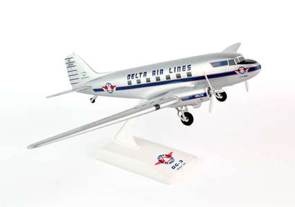 Delta Air Lines  - DC-3 (Skymarks 1:80)