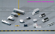- Airport service support vehicles (GeminiJets 1:400)