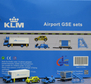 KLM - Airport GSE set 4 (JC Wings 1:200)