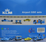 KLM - Airport GSE set 2 (JC Wings 1:200)