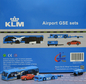 KLM - Airport GSE set 3 (JC Wings 1:200)